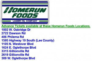 Homerun Foods Tickets